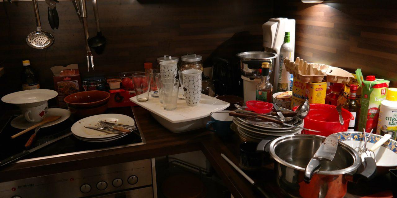 Cuisine chaotique : attention à votre silhouette