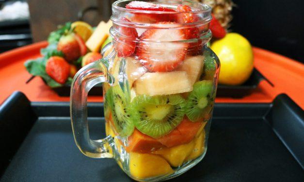Salade de fruits multivitaminée